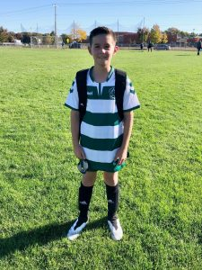 Ryan ready to roll on the soccer field