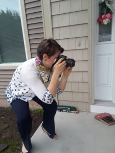 Kristina is always behind the lens.