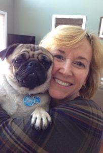 Cindy's pug nephew!